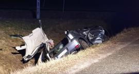 Śmiertelny wypadek na DK14. Zginęła 49-letnia kobieta (ZDJĘCIA)