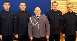 Nowi policjanci KPP w Łowiczu złożyli ślubowanie