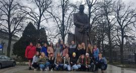Wizyta uczniów ZSCKR w Zduńskiej Dąbrowie w Sejmie