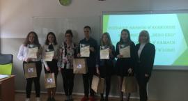 Ogłoszenie wyników w konkursie ekologicznym w II LO w Łowiczu