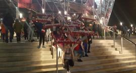Podopieczni domu dziecka w Strobowie obejrzeli mecz reprezentacji Polski