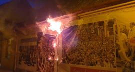 Pożar na ul. Zduńskiej