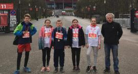 Piątka biegaczy z Domaniewic na starcie ogólnopolskiego biegu Lekkoatletyka dla każdego