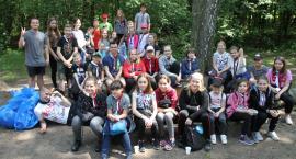 """""""Oj!Czysty Las!"""": młodzi sprzątali Lasek Miejski w Łowiczu"""