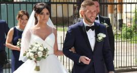 Maciej Rybus poślubił Lanę w kościele św. Leonarda w Łowiczu (ZDJĘCIA)