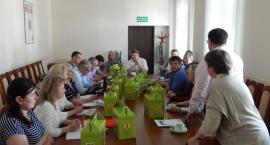 Delegacja Mołdawii z wizytą w powiecie łowickim