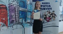 Uczennica II LO najlepsza w XVI Powiatowym Konkursie Języka Angielskiego