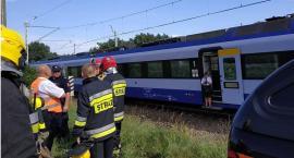 Nietypowa interwencja strażaków pod Łowiczem. Zostali poproszeni o udzielenie pomocy pasażerom pociągu