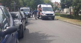 Łowicz: Potrącenie pieszego w alejkach Sienkiewicza
