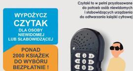 PBP w Łowiczu: łatwiejszy dostęp do cyfrowych książek mówionych dla osób niewidomych i słabowidzących