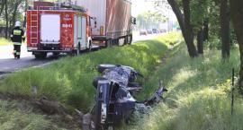 Groźne zdarzenie drogowe na trasie poznańskiej