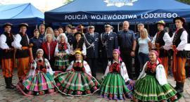 Łowicki folklor na centralnych obchodach Święta Policji w Warszawie