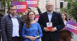 Łowicz: Lewica zaprezentowała trójkę kandydatów w wyborach do Sejmu (ZDJĘCIA, VIDEO)