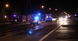 Wypadek na DK nr 70 w Łowiczu