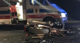 Tragiczny wypadek na drodze krajowej nr 92 pod Zdunami. Nie żyje 20-letni motocyklista
