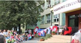 Czytali polskie nowele w alejkach Sienkiewicza