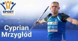 Cyprian Mrzygłód - pochodzący z Domaniewic rekordzista Polski w rzucie oszczepem, ze wsparciem fundacji Sport Twoją Szansą