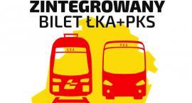 Zintegrowany bilet kolejowy ŁKA i autobusowy PKS