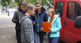 """Zwycięstwo drużyny z ZSP nr 1 w grze miejskiej - """"Tropem Tajemniczego Skarbu"""""""