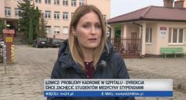 Łowicki szpital w TVN