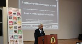"""Spotkanie podsumowujące projekt """"Zawodowcy w Łódzkiem – stypendia dla najzdolniejszych"""" w ZSiPO WŁ"""