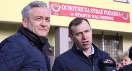 Robert Biedroń w Starym Waliszewie zapowiedział dodatek do emerytury dla druhów OSP (ZDJĘCIA, VIDEO)