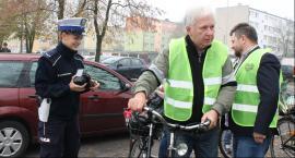 """Trwa akcja """"Łowiccy rowerzyści widziani z daleka"""""""