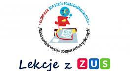 """Projekt """"Lekcje z ZUS"""" dla uczniów szkół ponadpodstawowych"""