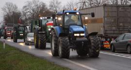 Protest rolników w powiecie łowickim (ZDJĘCIA, VIDEO)