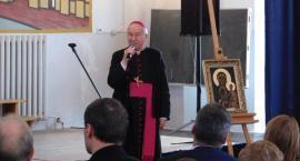 ZSP nr 1 - wizyta duszpasterska ks. Biskupa Andrzeja Franciszka Dziuby