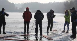 Druhowie OSP-RW trenowali nurkowanie pod lodem
