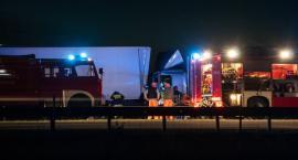 Niebezpiecznie na autostradzie A2 w rejonie Seligowa