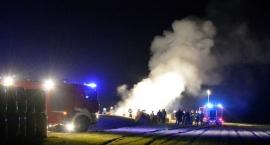 Nieuchwytny podpalacz grasuje w Wiśniewie