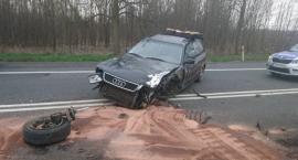 Mieszkaniec powiatu łowickiego spowodował wypadek w Kuznocinie miał 4 promile