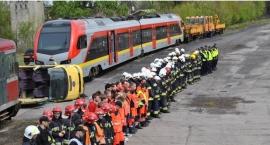 Akcja ratownicza na stacji Łowicz Przedmieście.