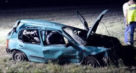 Śmiertelny wypadek na trasie DW703 w kierunku Łowicza