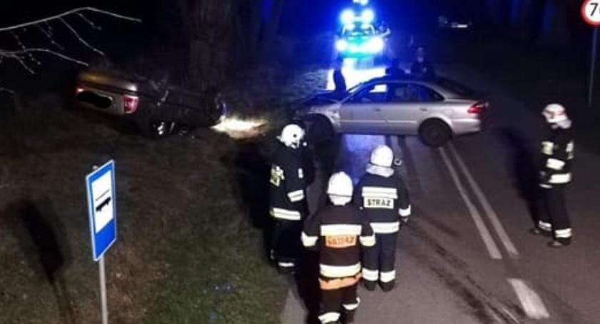 Wypadki, Wypadek Pasikoniach - zdjęcie, fotografia