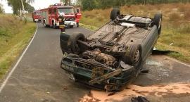 Groźny wypadek w Szczytnie, gmina Kampinos