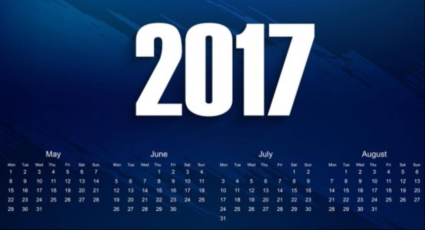 Informacje, Kalendarz wyglądają wolne pracujące - zdjęcie, fotografia