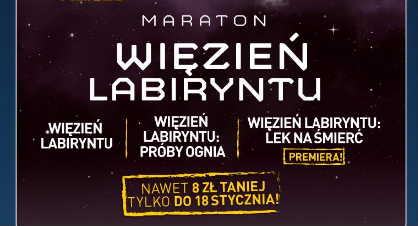 Imprezy, Nocny Maraton Filmowy Więźnia Labiryntu - zdjęcie, fotografia