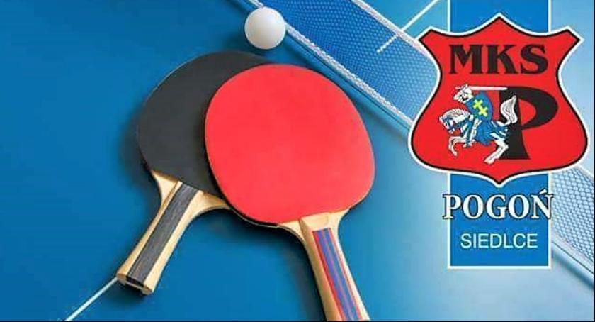 Wydarzenia, Turniej tenisa stołowego - zdjęcie, fotografia