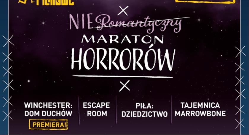 Imprezy, Nieromantyczny Maraton Horrorów - zdjęcie, fotografia