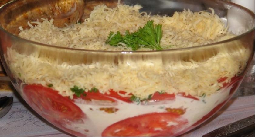 Kulinaria, Pomidory serową pierzynką - zdjęcie, fotografia