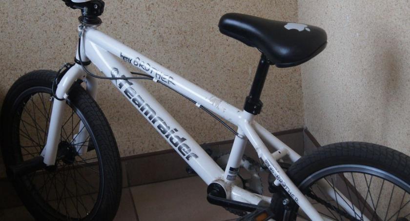 Kronika policyjna, KOMUNIKAT znaleziono rower TEAMRAIDER - zdjęcie, fotografia