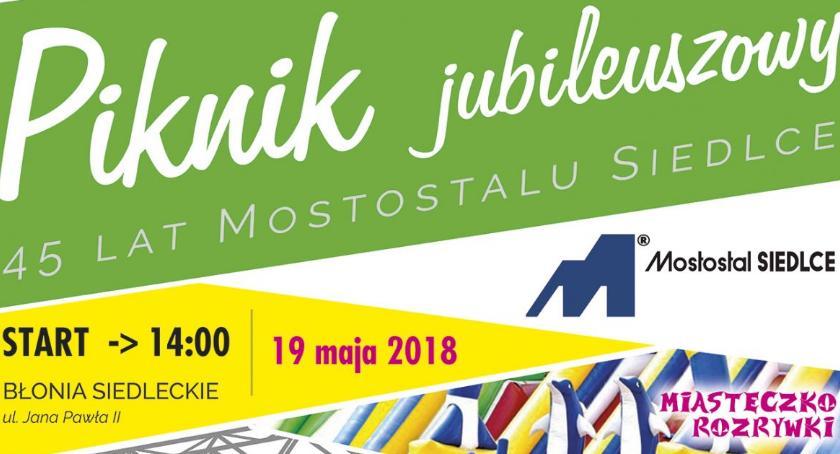 Wydarzenia, Piknik okazji Jubileuszu lecia Mostostal Siedlce - zdjęcie, fotografia