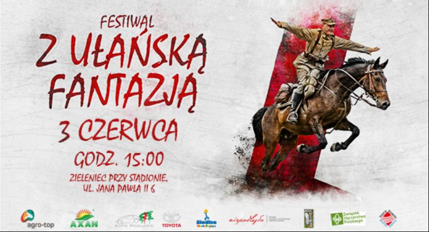"""Wydarzenia, Festiwal ułańską fantazją"""" - zdjęcie, fotografia"""