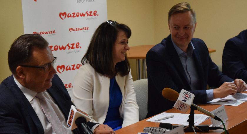 Informacje, kierunkach rozwoju Siedlcach konferencja marszałkiem - zdjęcie, fotografia