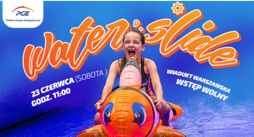 Wydarzenia, Water Slide sobotę! - zdjęcie, fotografia