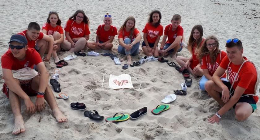 Wydarzenia, Wolontariusze Caritas żeglowali Bałtyku - zdjęcie, fotografia