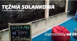 Tężnia Solankowa w Parku Wodnym Siedlce